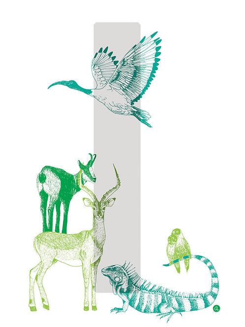 Alpha-bêtes - Lettre I