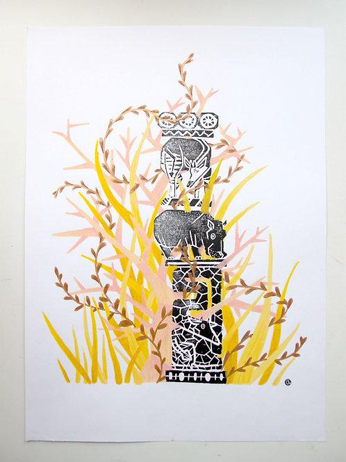 Animal Totem - Original 52