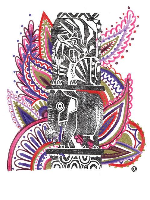 Animal Totem - Original 45