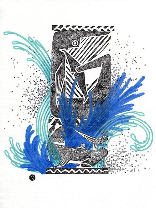Animal Totem - Original 32