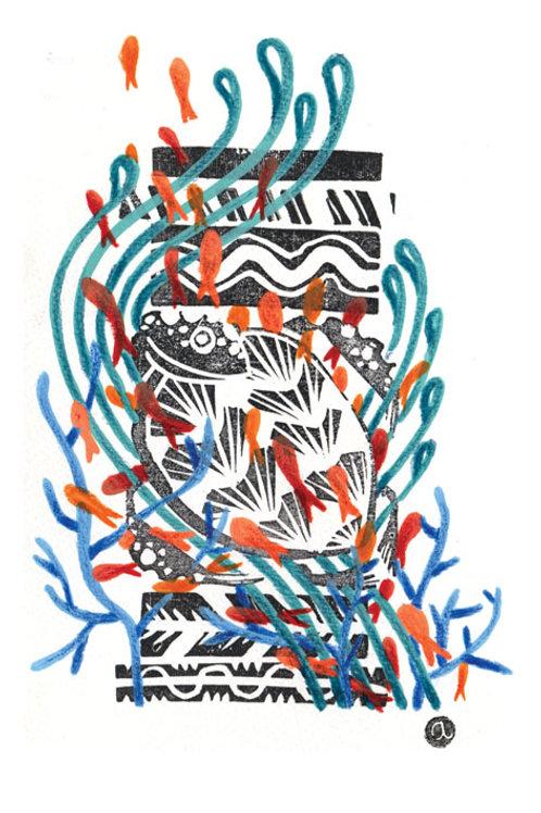 Animal Totem - Original 09