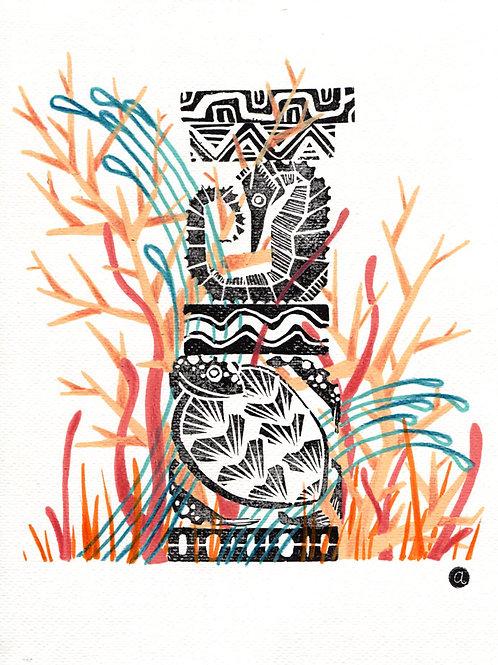 Animal Totem - Original 29