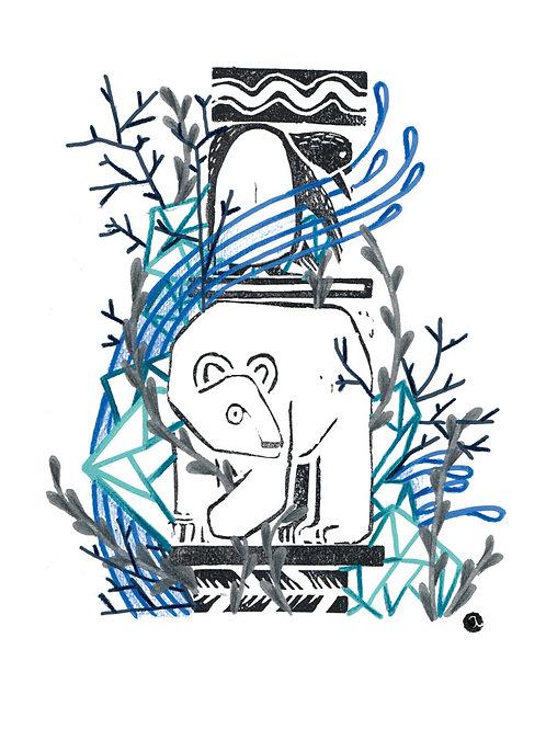 Animal Totem - Original 28