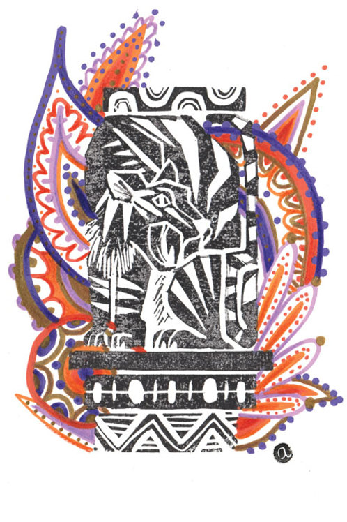 Animal Totem - Original 21