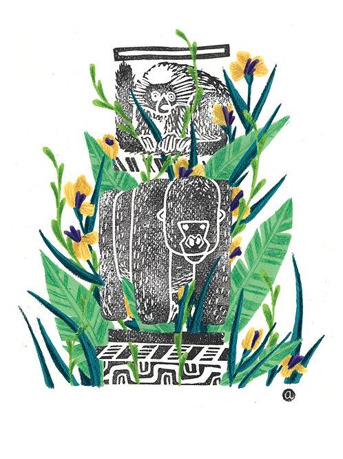 Animal Totem - Original 41