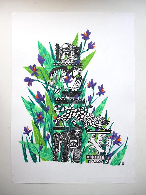 Animal Totem - Original 53