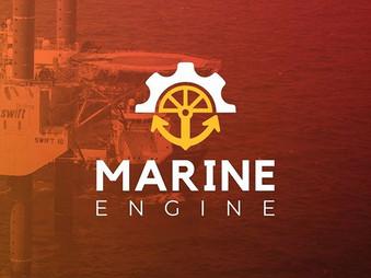 Proposta de logo Marine Engine._._._._._