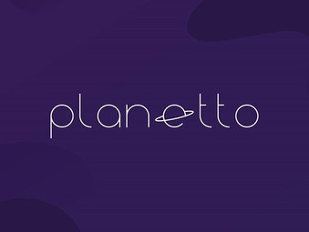 Identidade visual Planetto