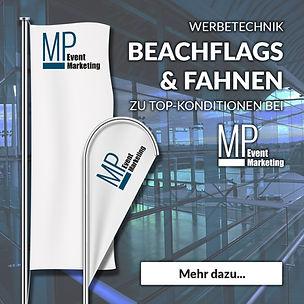 Beachflag, Fahne, Werbetechnik