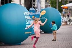 Luftballon, Werbeartikel