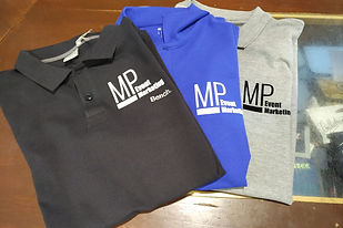Bedruckte Poloshirts, MP Eventmarketing