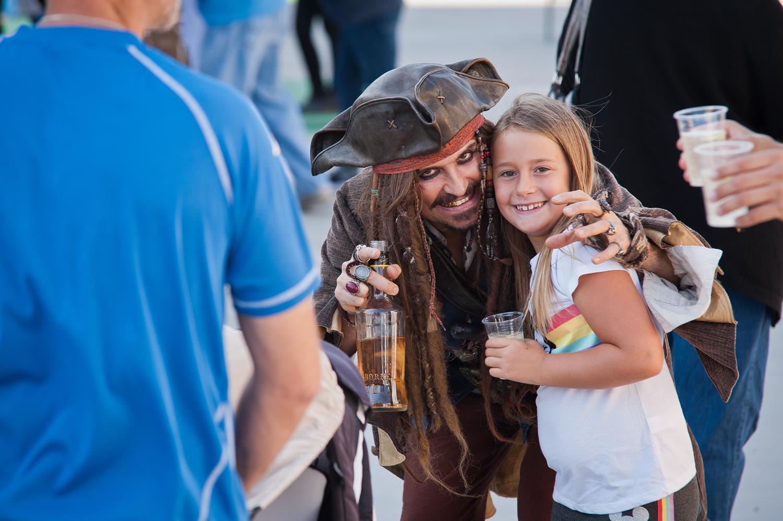 Street-Act, Captain Jack Sparrow
