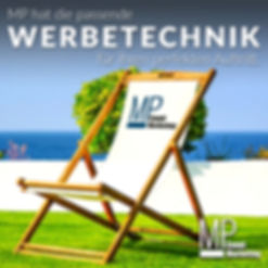 MP Eventmarketing, Werbetechnik