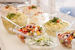Salatbuffet, Sommerfest
