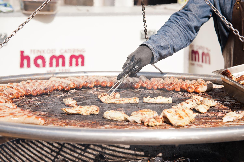 Grill, Fleisch, Sommerfest