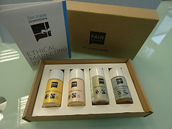 Shampoo-Set, Duschgel, Bodylotion, Werbeartikel