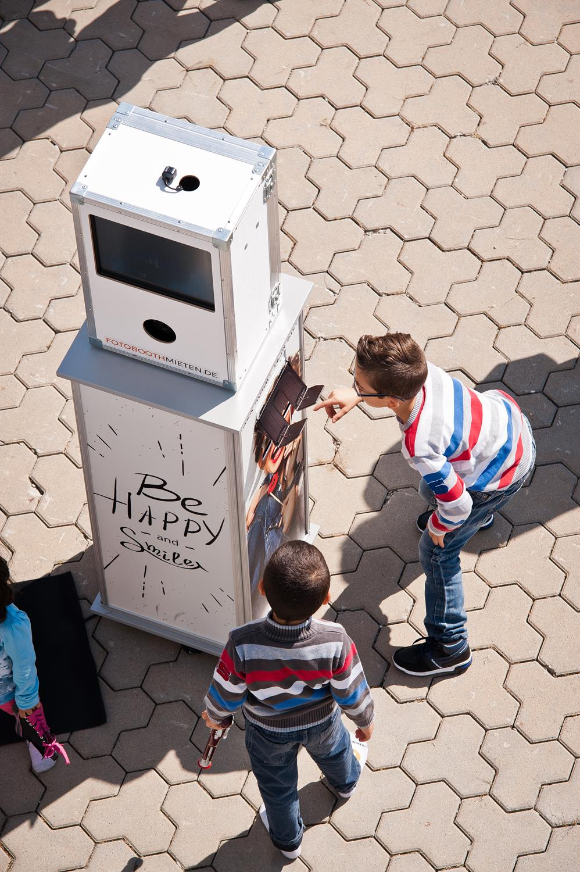 Fotobox, Sommerfest