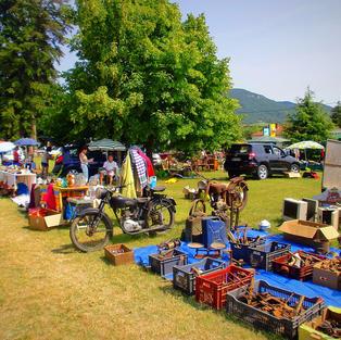Marchés et foires d'été La Begude-de-Mazenc.