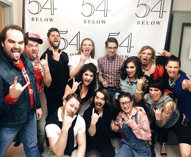 Cast - 54 Below Concert, 2015.