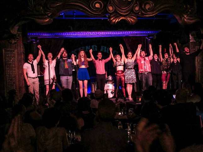 Cast - The Cutting Room Concert, 2015.