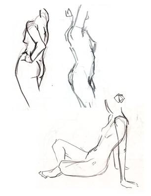 Female Figure Study 01