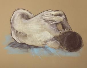 Male Figure Fetal Study
