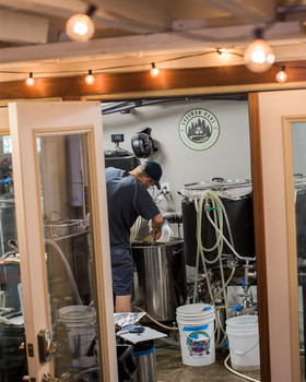 Brewing in the Basement at Guggman Haus Brewing Co.