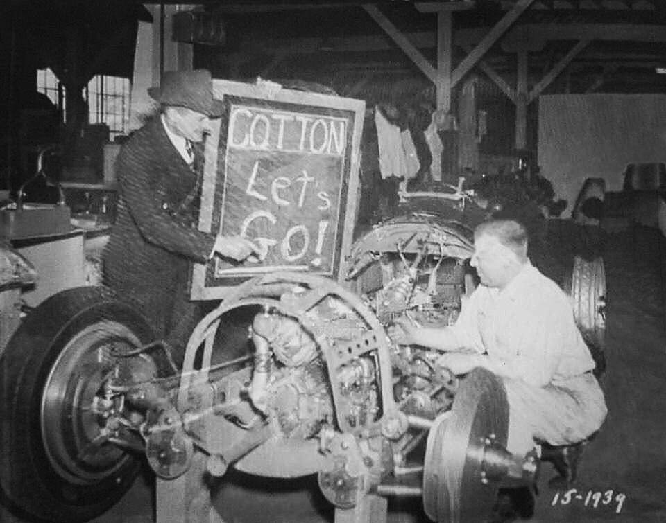 Cotton Hennings - Boyle Racing Mechanic