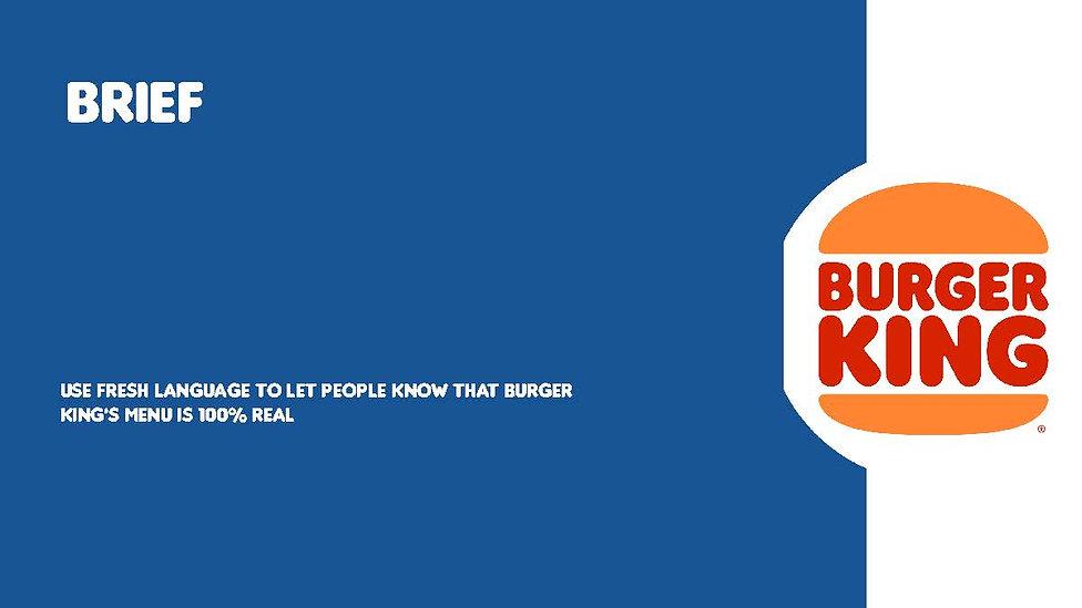 Burger King Project - Portofolio Version