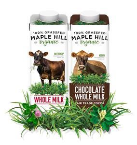 Maple Hill launches milk in SIG cartons