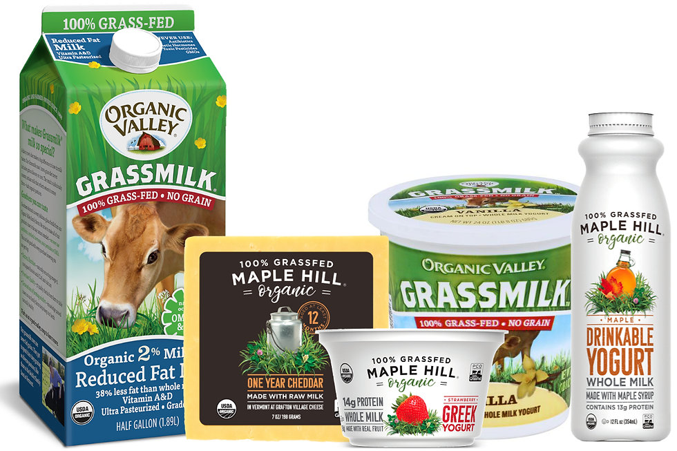 Grass-fed dairy — the original plant-based milk