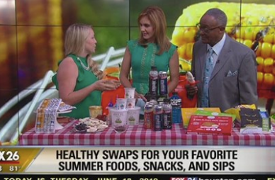 Healthy swaps for your favorite summer foods, snack and sips
