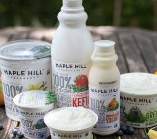 Grass-fed is greener, says Maple Hill Creamery