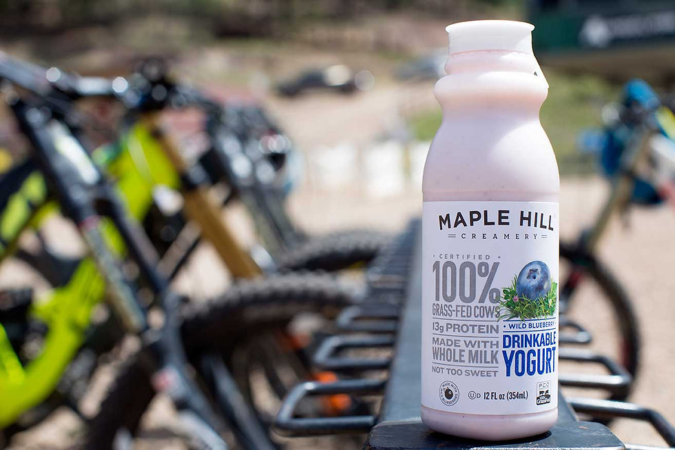#RideonGrass: Maple Hill Sponsors Farm to Fork Fondo Cycling Series