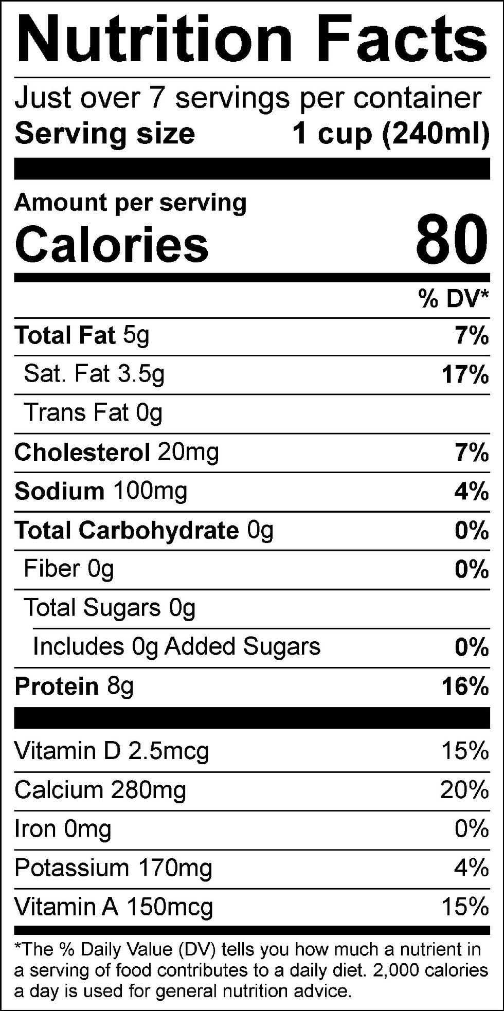 Zero Sugar 2% Reduced Fat Milk