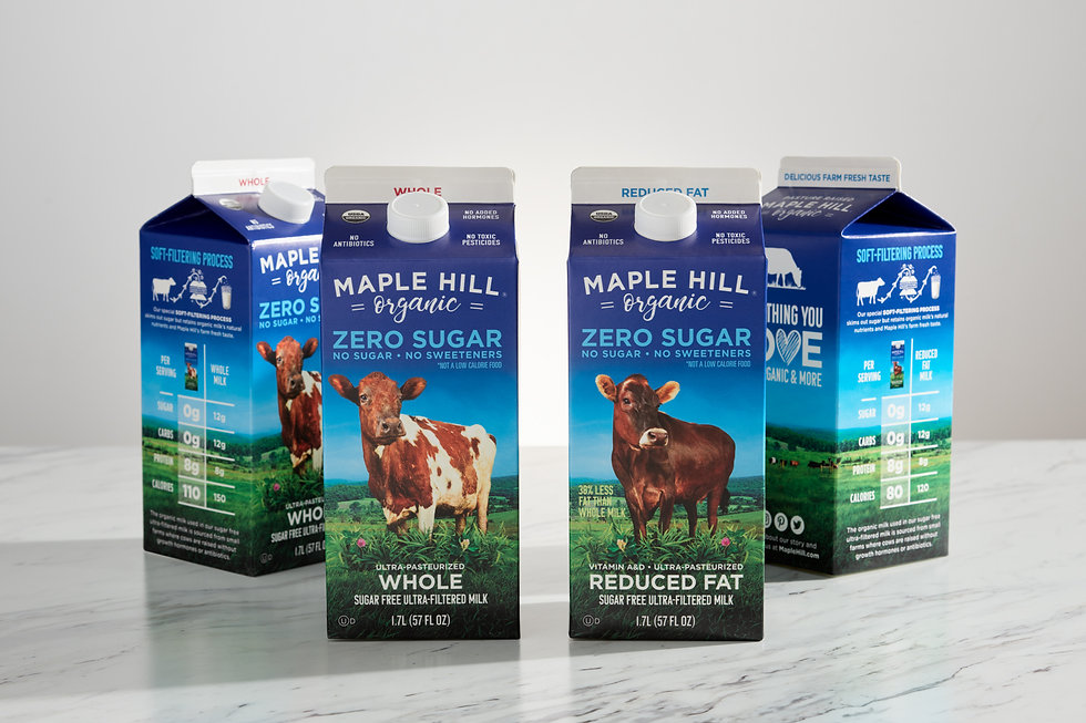 Maple Hill Creamery Launches America's First-Ever Zero Sugar Organic Milk