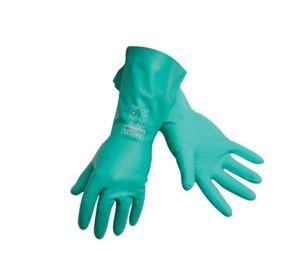 Gloves 226836L  MSA NITROSOLV Flocked Lined Latex Chemical Gloves Large