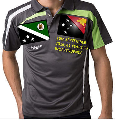 PNG-Hagen Independence polo shirt