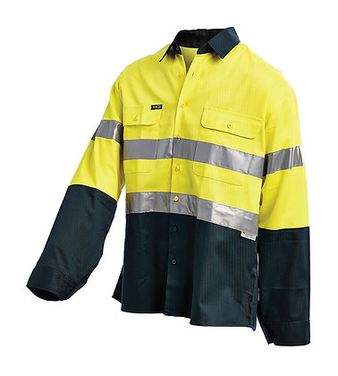 Hi-Vis 2-Tone Shirt With 3M™ Reflective Tape Prod.