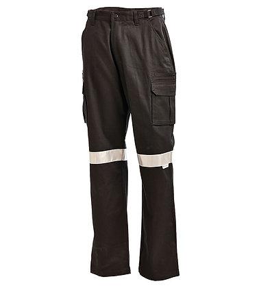 Cotton Drill Multi Pocket Cargo Pants-1003T