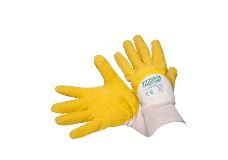 MSA NITRILE Cotton Wrist & Latex Palm Gloves Medium
