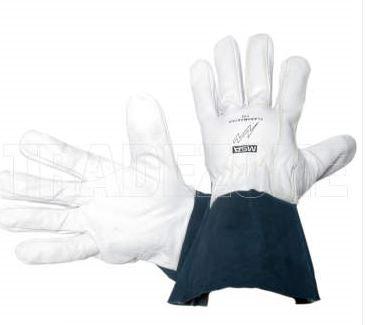 MSA FLASHMASTER TIGMATE Kevlar Stitched Goat Select Grain Welders Gloves Large
