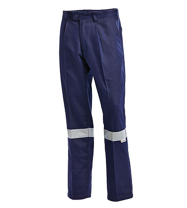 Regular Cotton Drill Work Pants Product-1002N