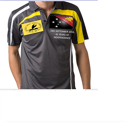 PNG - NCDC Indpendece promotion polo shirt