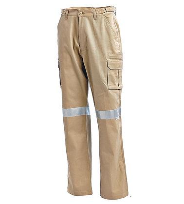 Cotton Drill Multi Pocket Cargo Pants -1003K