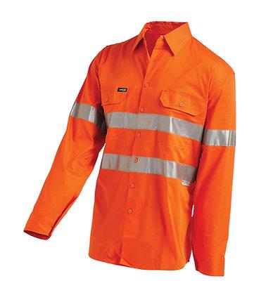 Hi-Vis Lightweight Gusset Cuff Shirt With 3M™ 2006