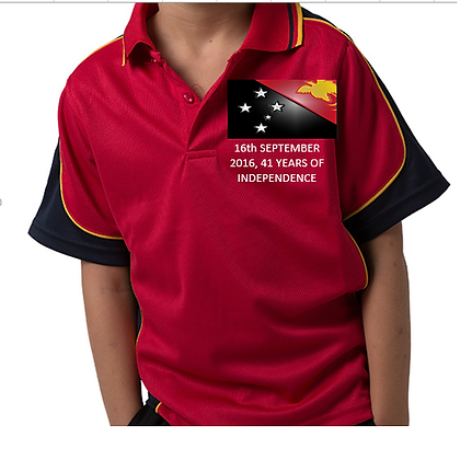 PNG Independence Promotion Polo Shirts