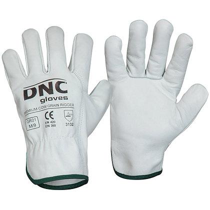 Premium Cow Grain Rigger Gloves