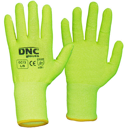 HiVis Duratex Cut 5 resistance gloves