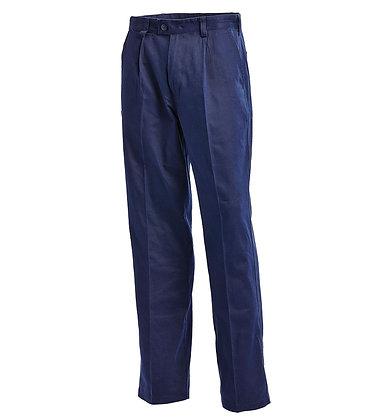 Regular Cotton Drill Work Pants -1001N